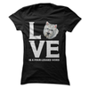 Westie Dog Love Is A Four-Legged Word  [T-Shirt] awesomethreadz