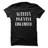 Worlds Okayest Engineer  [T-Shirt] awesomethreadz