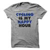 Cycling Is My Happy Hour  [T-Shirt] awesomethreadz