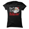 Don't Stop Believin' (CHRISTMAS)  [T-Shirt] awesomethreadz