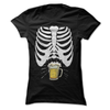 Skeleton Beer Belly  [T-Shirt] awesomethreadz