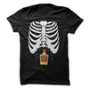 Skeleton Tequila Belly  [T-Shirt] awesomethreadz
