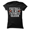 Football Is My Favorite Season  [T-Shirt] awesomethreadz