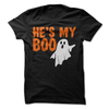 He's My Boo (HALLOWEEN)  [T-Shirt] awesomethreadz