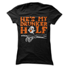 He's My Drunker Half (HALLOWEEN)  [T-Shirt] awesomethreadz