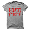 Love Stinks Valentines T-Shirt  [T-Shirt] awesomethreadz