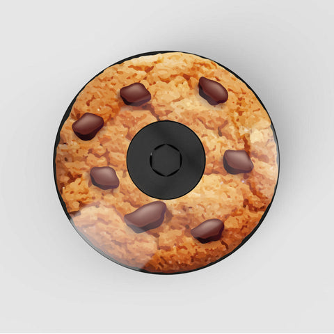Stem Cap Top Cap Bicycle photo of chocolate chip cookie