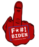 F*#! JOE BIDEN MIDDLE FINGER FOR YOUR CARS BACK WINDSHIELD WIPER