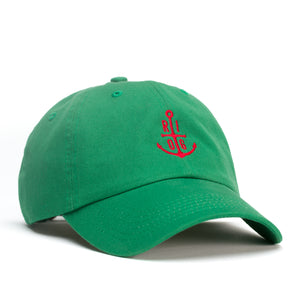 Red Anchor Dad Hat