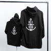 Youth Anchor Logo Premium Hoodie - Black