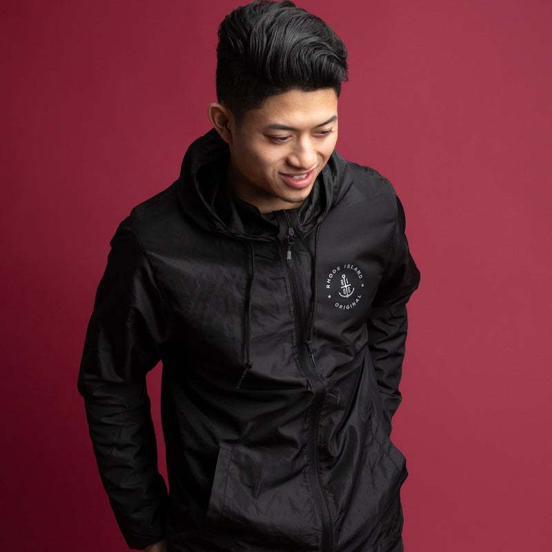 Lightweight Windbreaker - Black