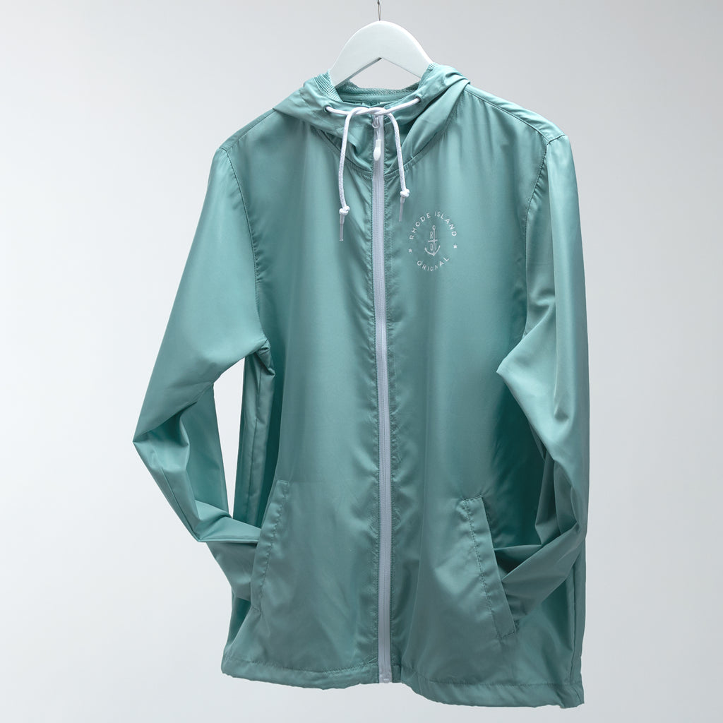 Lightweight Windbreaker - Seafoam