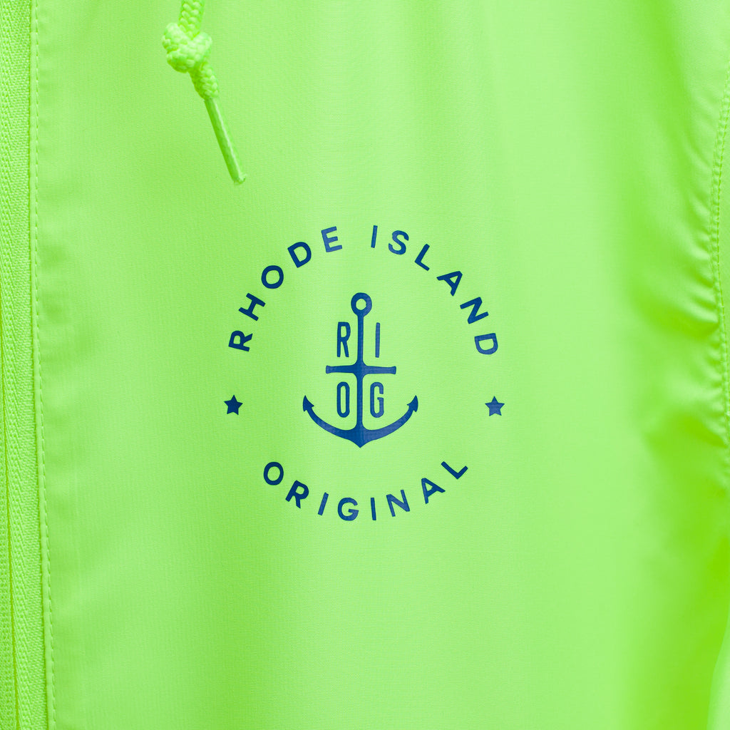 Lightweight Windbreaker- Neon Yellow
