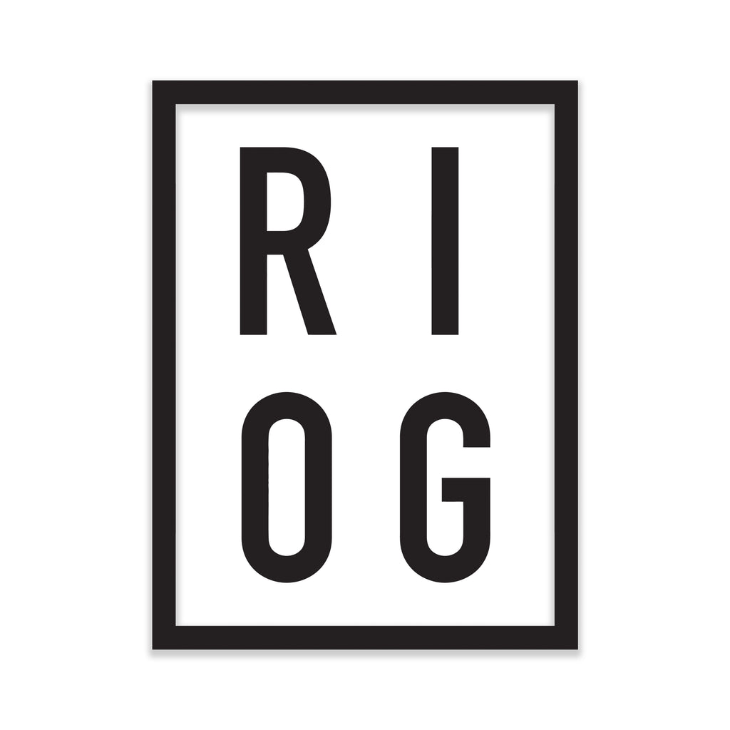 Classic RIOG Box Sticker