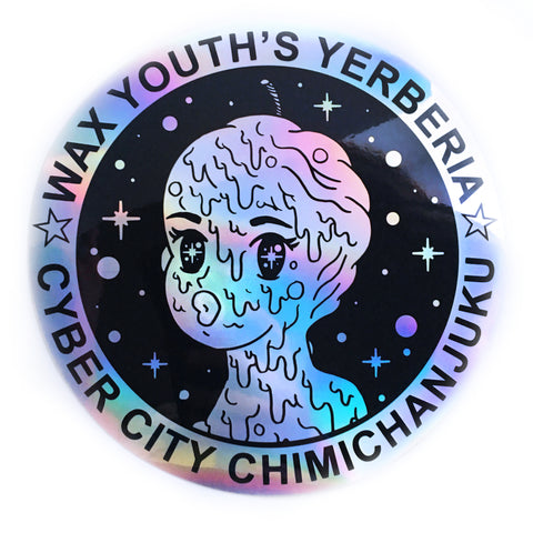 Wax Youth Jumbo Hologram Sticker