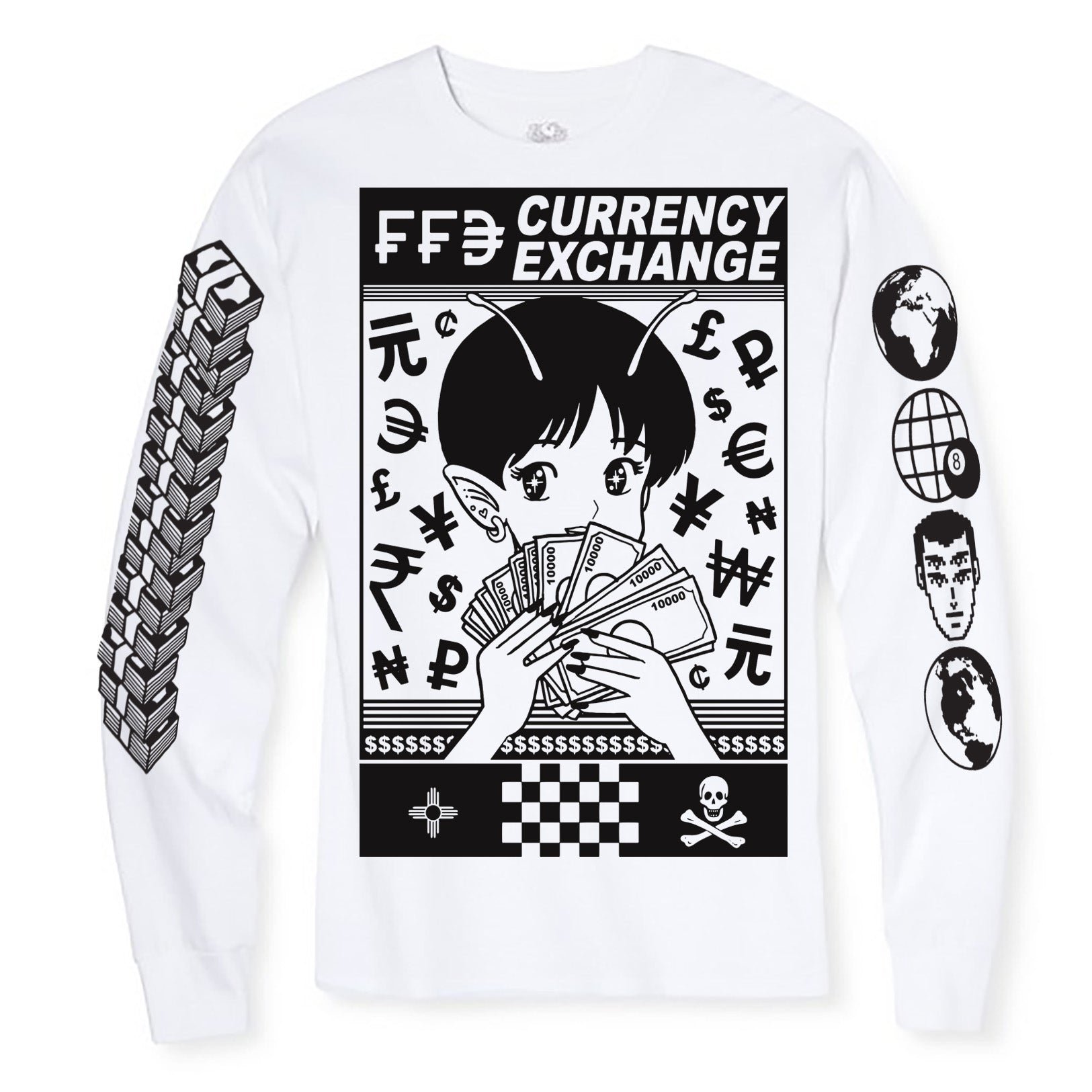 Currency Exchange Longsleeve