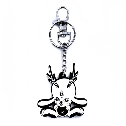 Chico the Jackelope Keychain