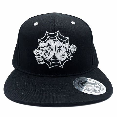 Laugh Now Cry Later Flat-brim Snapback