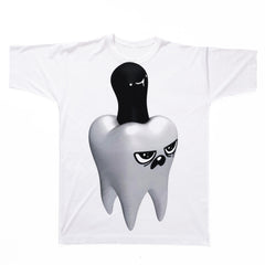 3D Spooky Tooth T-Shirt