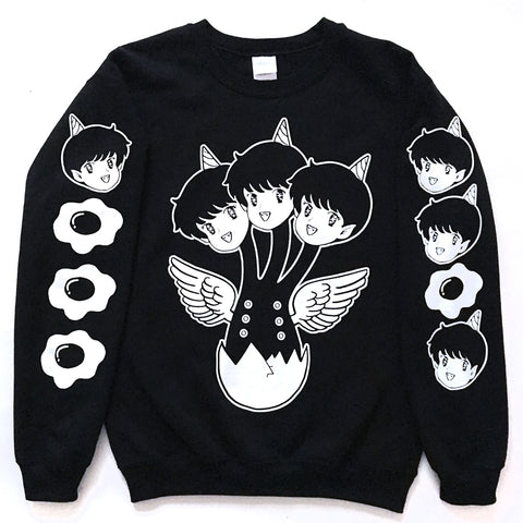 Triple Beam Crew neck Sweater
