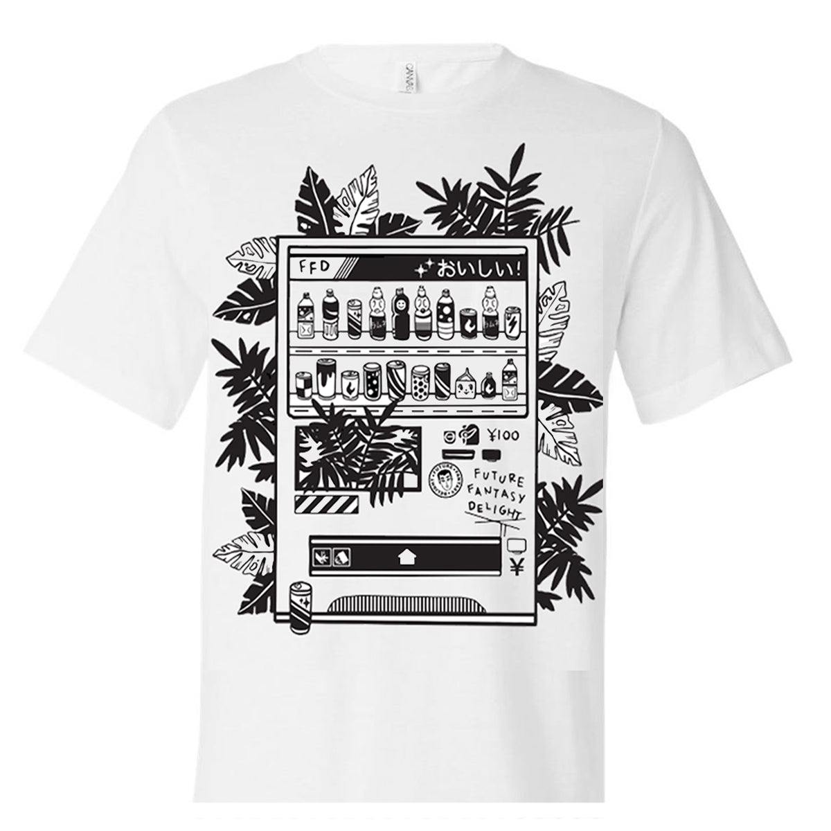 FFD OISHI Vending Machine Tee