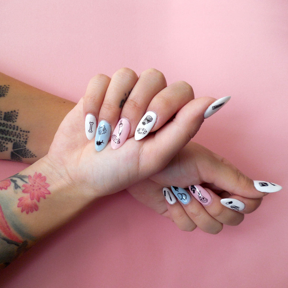 Artifacts Nail Decals