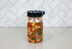 Fermented Cucumber Kimchi-Style