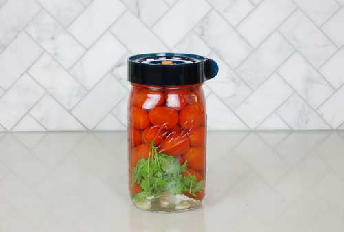Simply Delish Lacto-Fermented Cherry Tomatoes