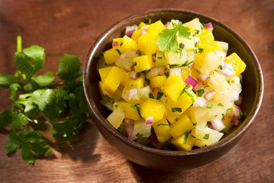 How To Make Fermented Pineapple Salsa