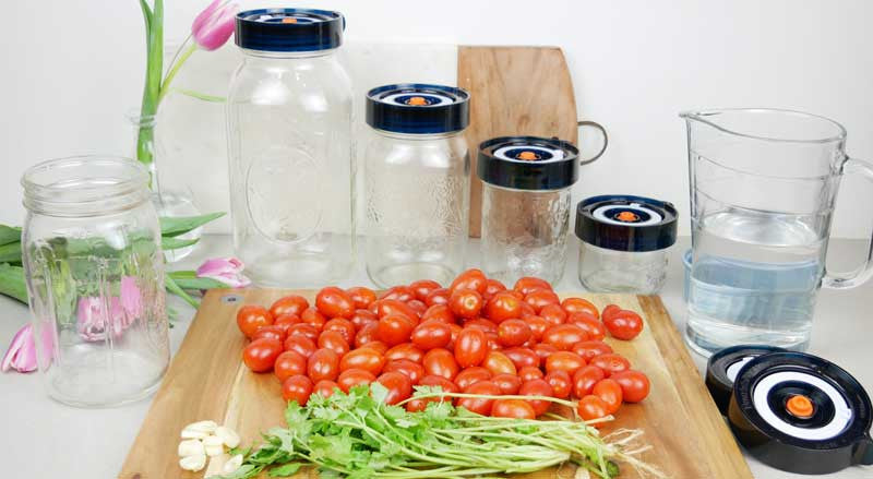 Fermented Cherry Tomatoes