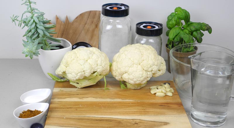 Fermented Cauliflower - Ingredients