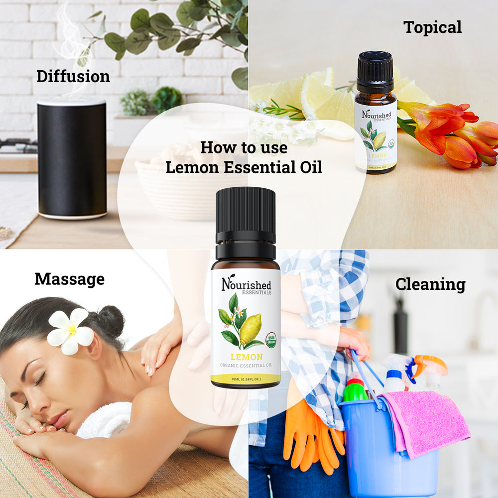Organic Lemon Essential Oil