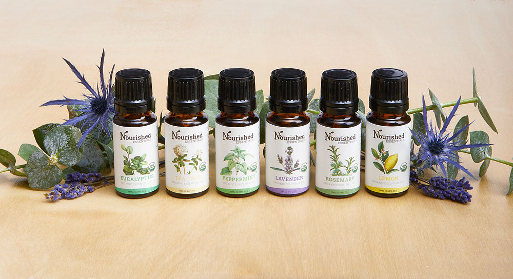 Purifying Essential Oils + Car Vent Diffuser Kit