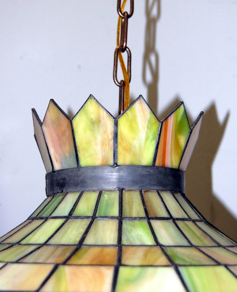 Antique original 1950s stained glass fruit light fixture vintage antique original 1950s stained glass fruit light fixture vintage lighting mozeypictures Choice Image