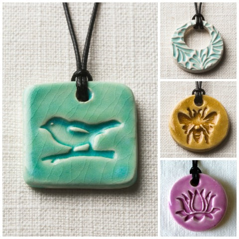 Ceramic Diffuser Necklaces