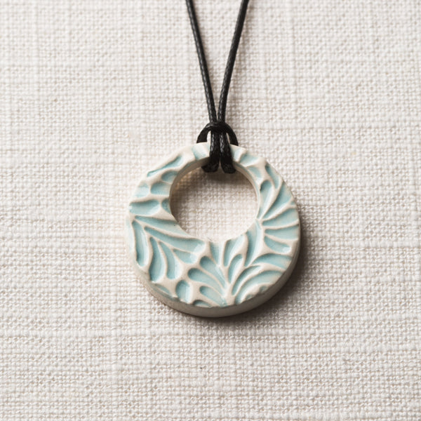 Playful Simple Hoop Essential Oil Necklace