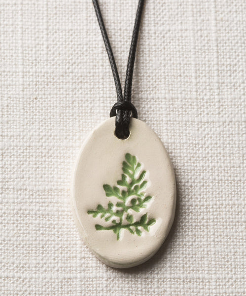 Botanical Essential Oil Diffuser Necklace