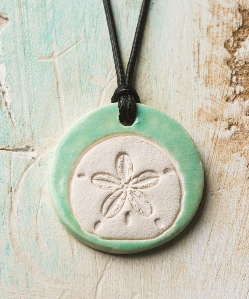 Sand Dollar Essential Oil Necklace