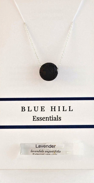 Aromatherapy Gift Set with Lava Stone Necklace