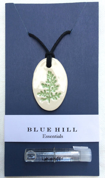 Botanical Essential Oil Diffuser Necklace comes with free lavender essential oil