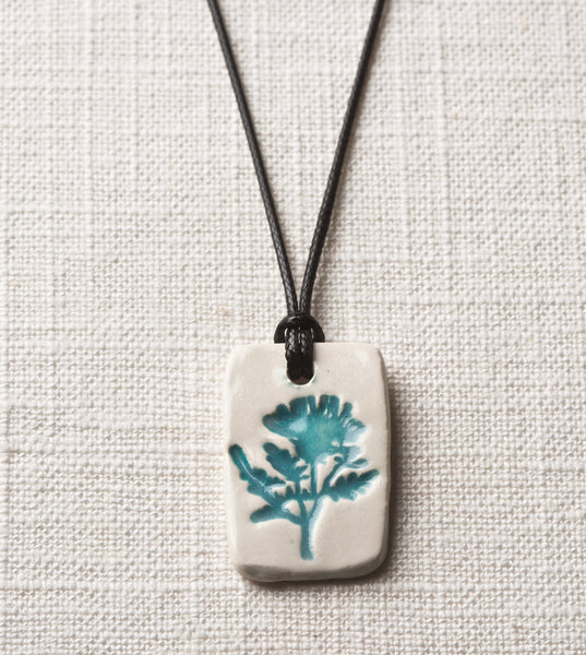 Thistle Essential Oil Diffuser Necklace