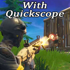 With Quickscope Crosshair