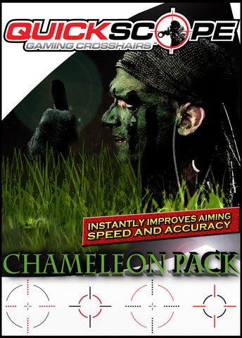 Chameleon Pack -Standard Size - Designed for screens under 38 inches - Cheatergear Hardcore Gaming Products