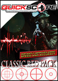Classic Red Pack - Standard Size - Designed for screens under 38 inches - Cheatergear Hardcore Gaming Products