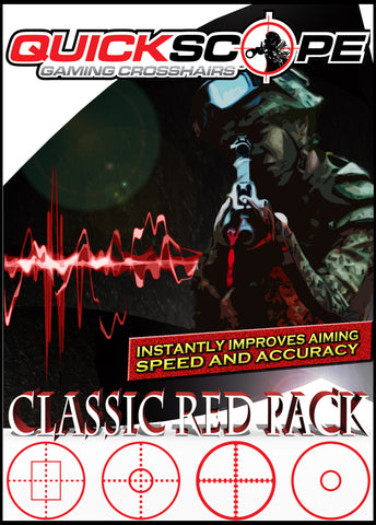Classic Red Pack - Cheatergear Hardcore Gaming Products