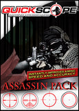 Night Assassin Pack - Standard Size -Designed for screens under 38 Inches - Cheatergear Hardcore Gaming Products