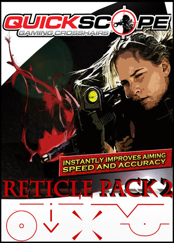 Reticle Crosshair Pack 2 - Cheatergear Hardcore Gaming Products