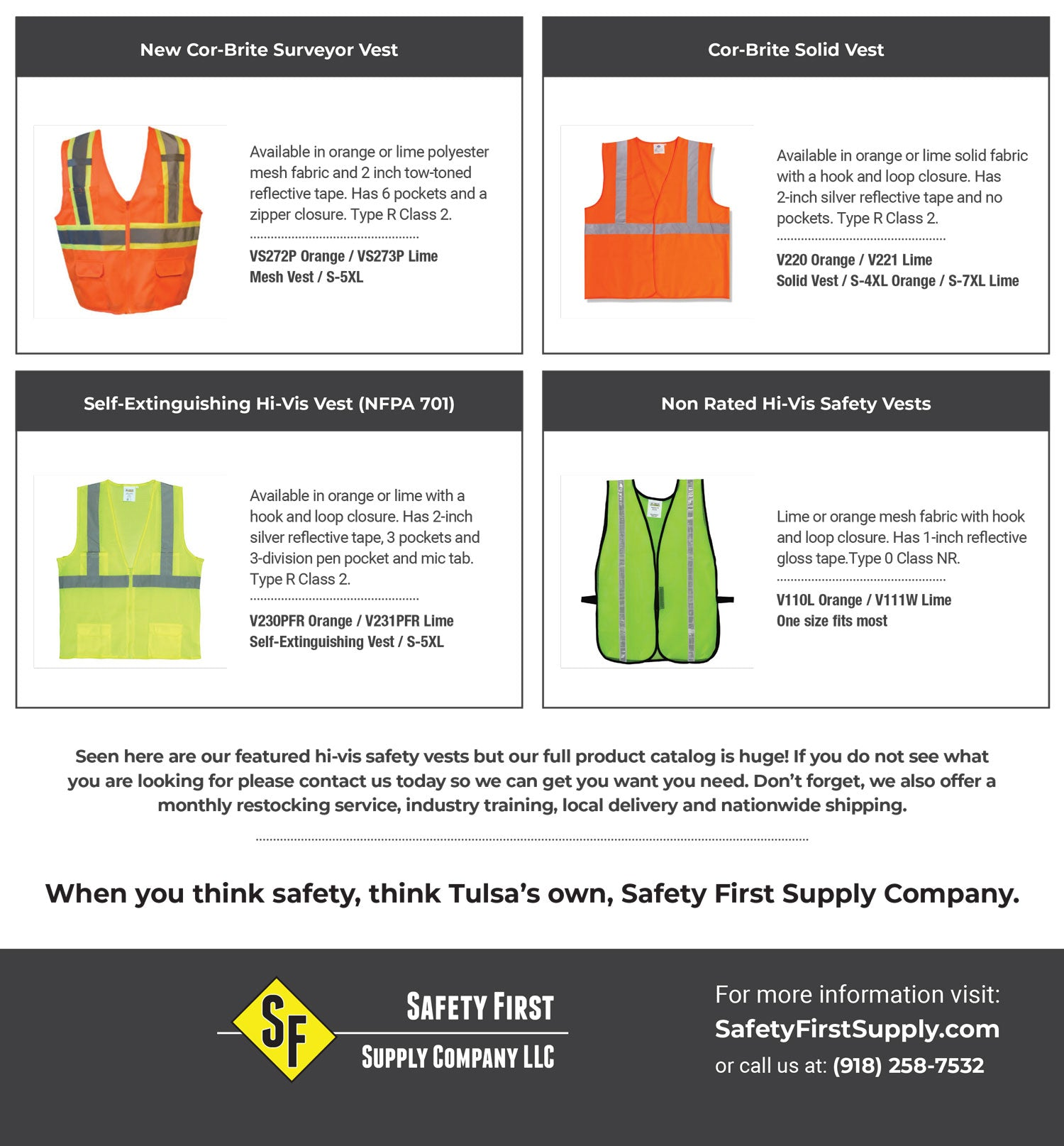 Tulsa Safety Vests