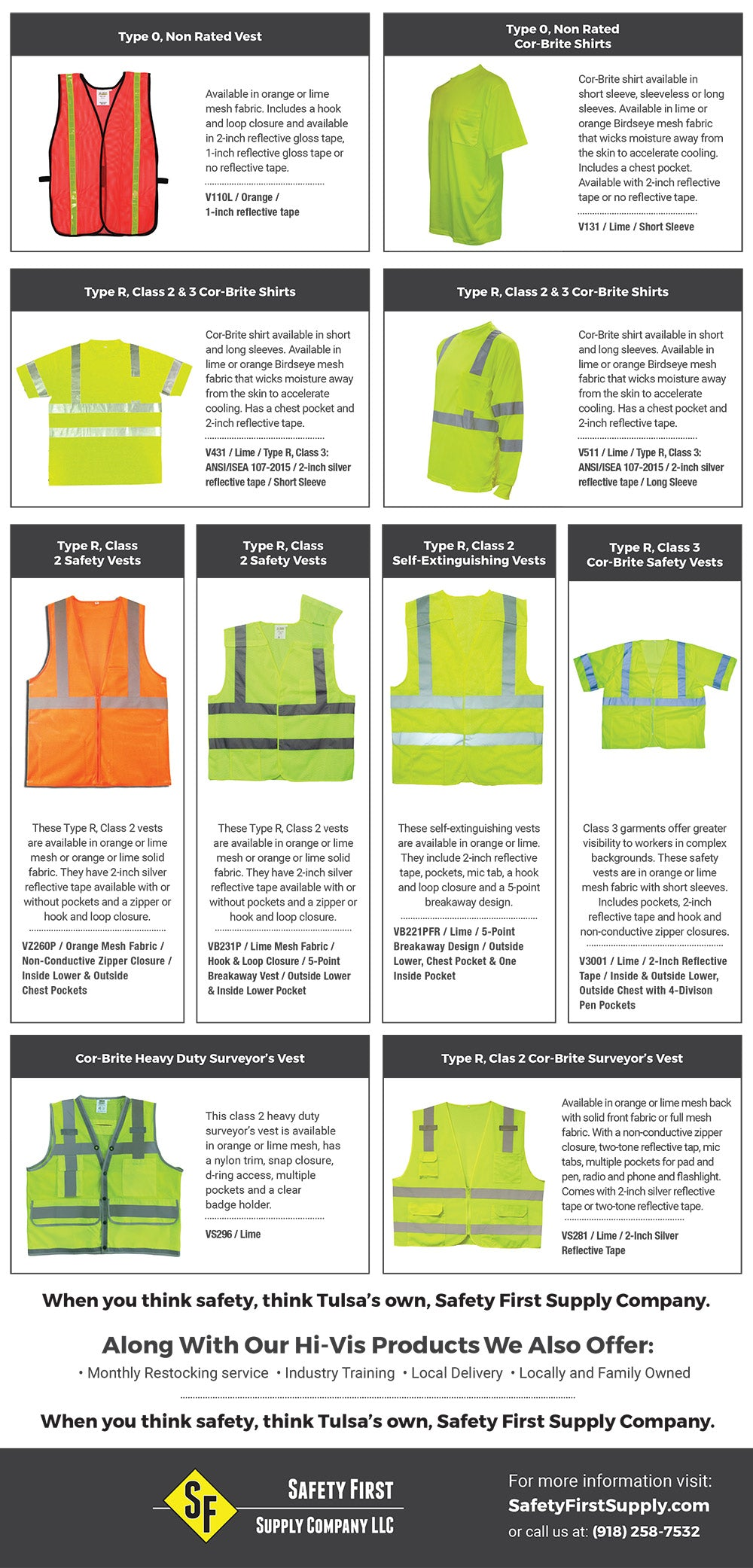 Hi-Vis Safety Vests and Products