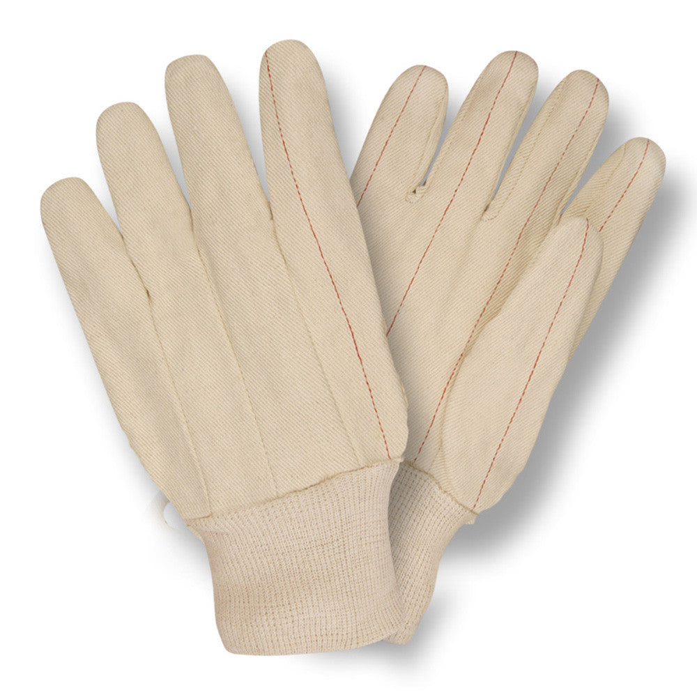 Double Palm Cotton Canvas, Nap-In, Quilted Palm, Knit Wrist - 2430 - Dozen